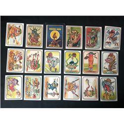 1973 Donruss Baseball Super Freaks Trading Cards