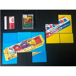 WACKY PACKAGES CARD LOT (SERIES #8 -9 CARD POSTER...)