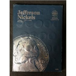COMPLETE BOOK OF USA JEFFERSON NICKELS