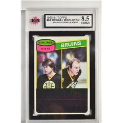 1980-81 Topps #94 Peter McNab TL/Rick Middleton