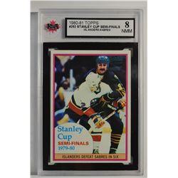 1980-81 Topps #262 Stanley Cup Semifinals/Islanders-Sabres