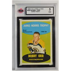 1969-70 O-Pee-Chee #209 Bobby Orr/Norris Trophy