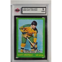 1973-74 O-Pee-Chee #228 Gary Croteau