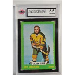 1973-74 O-Pee-Chee #172 Joey Johnston