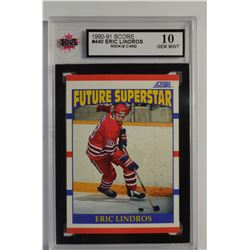 1990-91 Score #440 Eric Lindros RC
