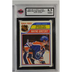 1985-86 O-Pee-Chee #258 Wayne Gretzky LL