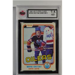 1981-82 O-Pee-Chee #106 Wayne Gretzky