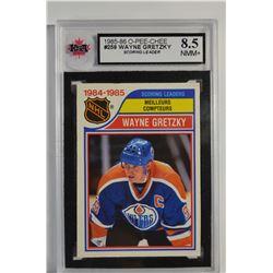 1985-86 O-Pee-Chee #259 Wayne Gretzky LL