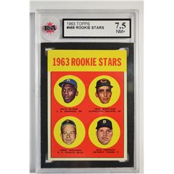 1963 Topps #466 Rookie Stars/Nate Oliver RC