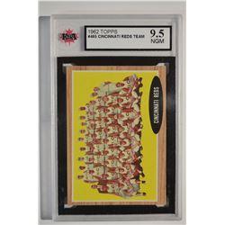 1962 Topps #465 Cincinnati Reds TC