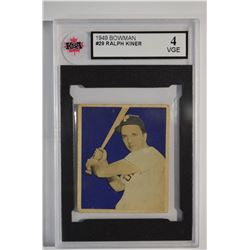 1949 Bowman #29 Ralph Kiner
