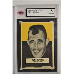 1959 Wheaties CFL #14 Ron Howell
