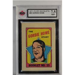 1971-72 O-Pee-Chee/Topps Booklets #23 Gordie Howe