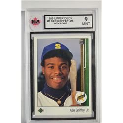 1989 Upper Deck #1 Ken Griffey Jr. RC