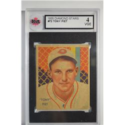 1934-36 Diamond Stars #72 Tony Piet (35G)