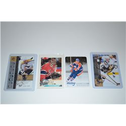 MIXED CARD LOT (4)