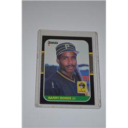 1987 Leaf/Donruss #219 Barry Bonds