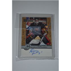 1999-00 UD Prospects Signatures of Tradition #BF Brian Finley