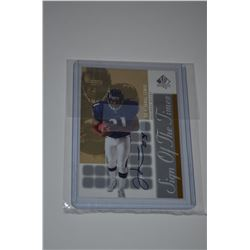 2000 SP Authentic Sign of the Times #JL Jamal Lewis