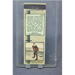 1935-36 Diamond Matchbooks Tan #50 Murray Murdoch