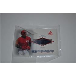 2001 SP Authentic UD Exclusives Game Jersey #KG Ken Griffey Jr.