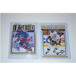 2009-10 O-Pee-Chee #551 Wayne Gretzky L &  #87 Sidney Crosby