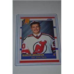 1990-91 Score #439 Martin Brodeur RC