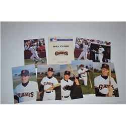 Will Clark - Post Card Set