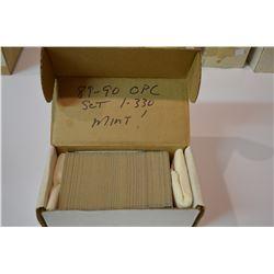 1989-90 OPC HOCKEY Complete Set - Mint