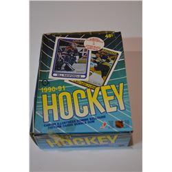 5 Boxes - 1990-91 O-Pee-Chee Box Set