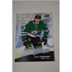 2017-18 Upper Deck MVP #238 Denis Gurianov RC