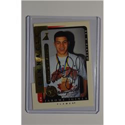 1996-97 Be A Player Link to History Autographs #1A Jarome Iginla