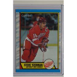 1989-90 O-Pee-Chee #83 Steve Yzerman