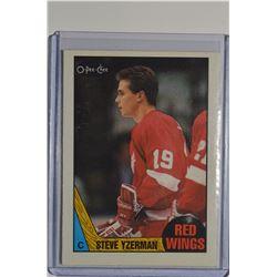 1987-88 O-Pee-Chee #56 Steve Yzerman
