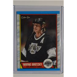 1989-90 O-Pee-Chee #156 Wayne Gretzky