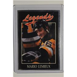 1991 Legends Sports #46 Mario Lemieux