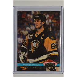 1991 Stadium Club Members Only #47 Mario Lemieux/Mario Repeats As MVP
