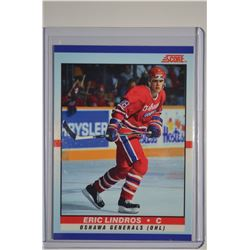 1990-91 Score Young Superstars #40 Eric Lindros