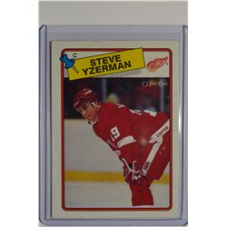 1988-89 O-Pee-Chee #196 Steve Yzerman