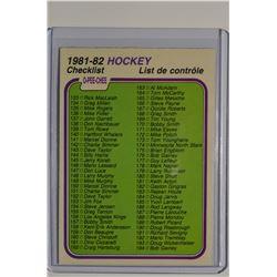 1981-82 O-Pee-Chee #380 Checklist 133-264