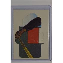 1987 Donruss Roberto Clemente Puzzle #34 Clemente Puzzle 34-36