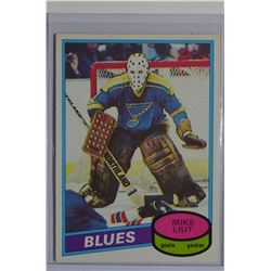 1980-81 O-Pee-Chee #31 Mike Liut RC