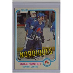 1981-82 O-Pee-Chee #277 Dale Hunter RC