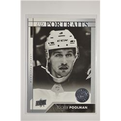 2017-18 Upper Deck UD Portraits #P71 Tucker Poolman
