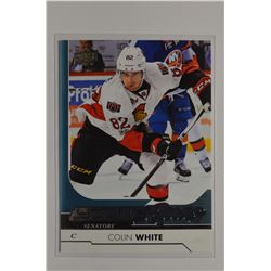 2017-18 Upper Deck #493 Colin White YG RC