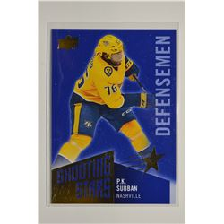 2018-19 Upper Deck Shooting Stars Defensemen #SSD3 P.K. Subban