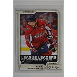 2018-19 O-Pee-Chee #592 Alexander Ovechkin LL