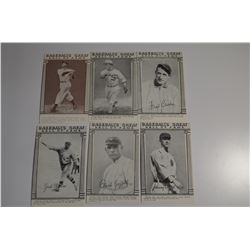 1976 Galasso Baseball's Great Hall of Fame (18 Cards)
