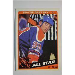 1984-85 Topps #154 Wayne Gretzky AS