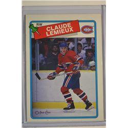 1988-89 O-Pee-Chee #227 Claude Lemieux